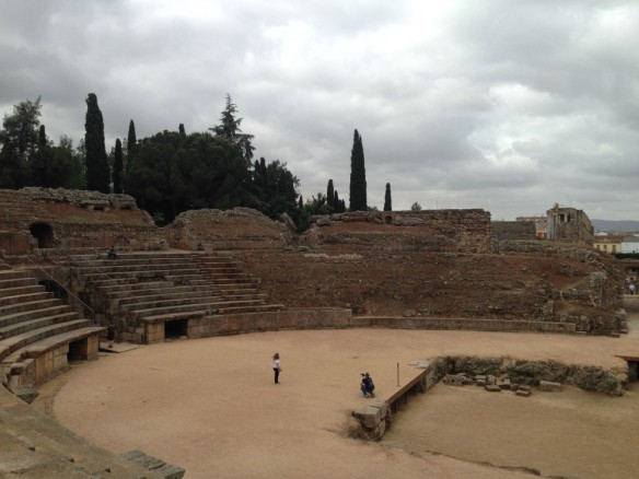 ローマ遺跡。円形競技場