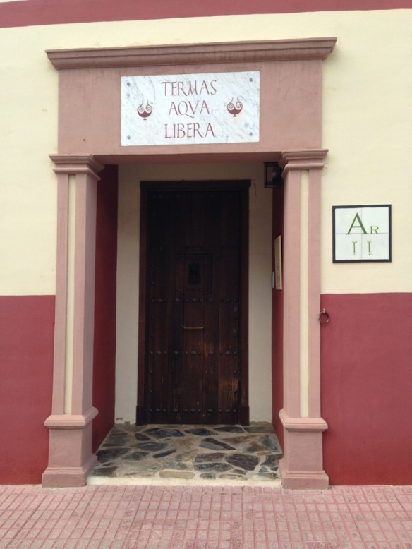 テルマスの入り口
