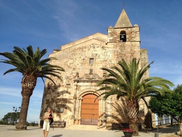 Aljucen サン・アンドレアス教会
