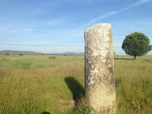 ローマ時代の道標