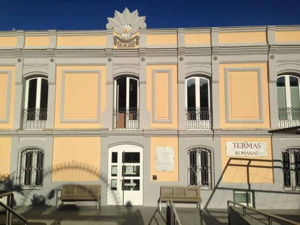 ローマ浴場があるテルマスの建物