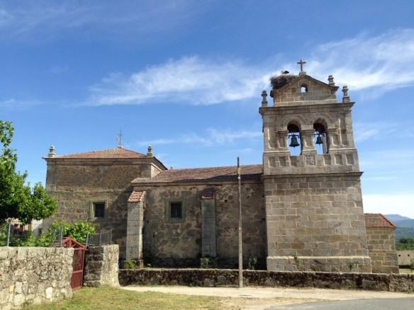 Valverde de Valdelacasaの教会
