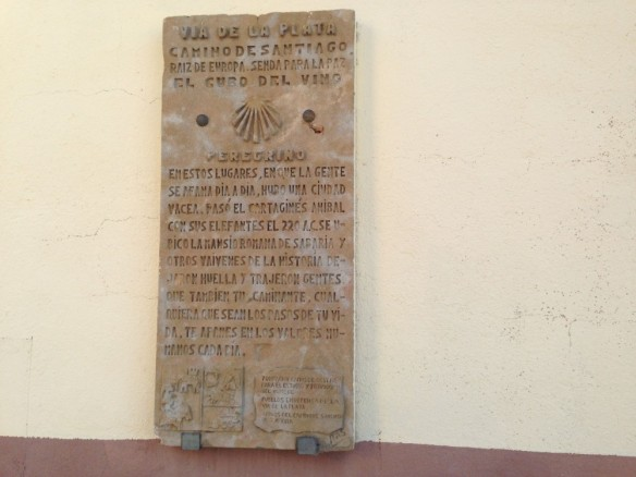 カミーノの碑