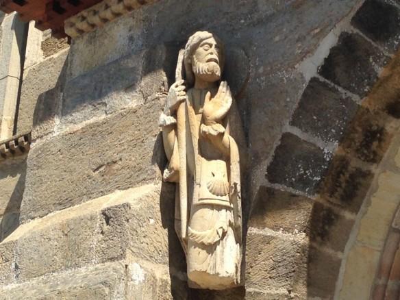 最も古いペレグリーノ像のオリジナル