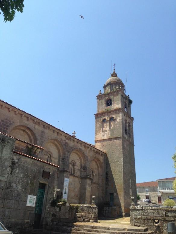 Xunqueira de Ambiaの教会